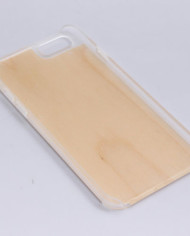 iPhone 6 Bamboo Case with Clear Plastic Bumper 3