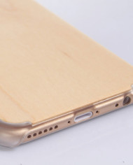 iPhone 6 Bamboo Case with Clear Plastic Bumper 4