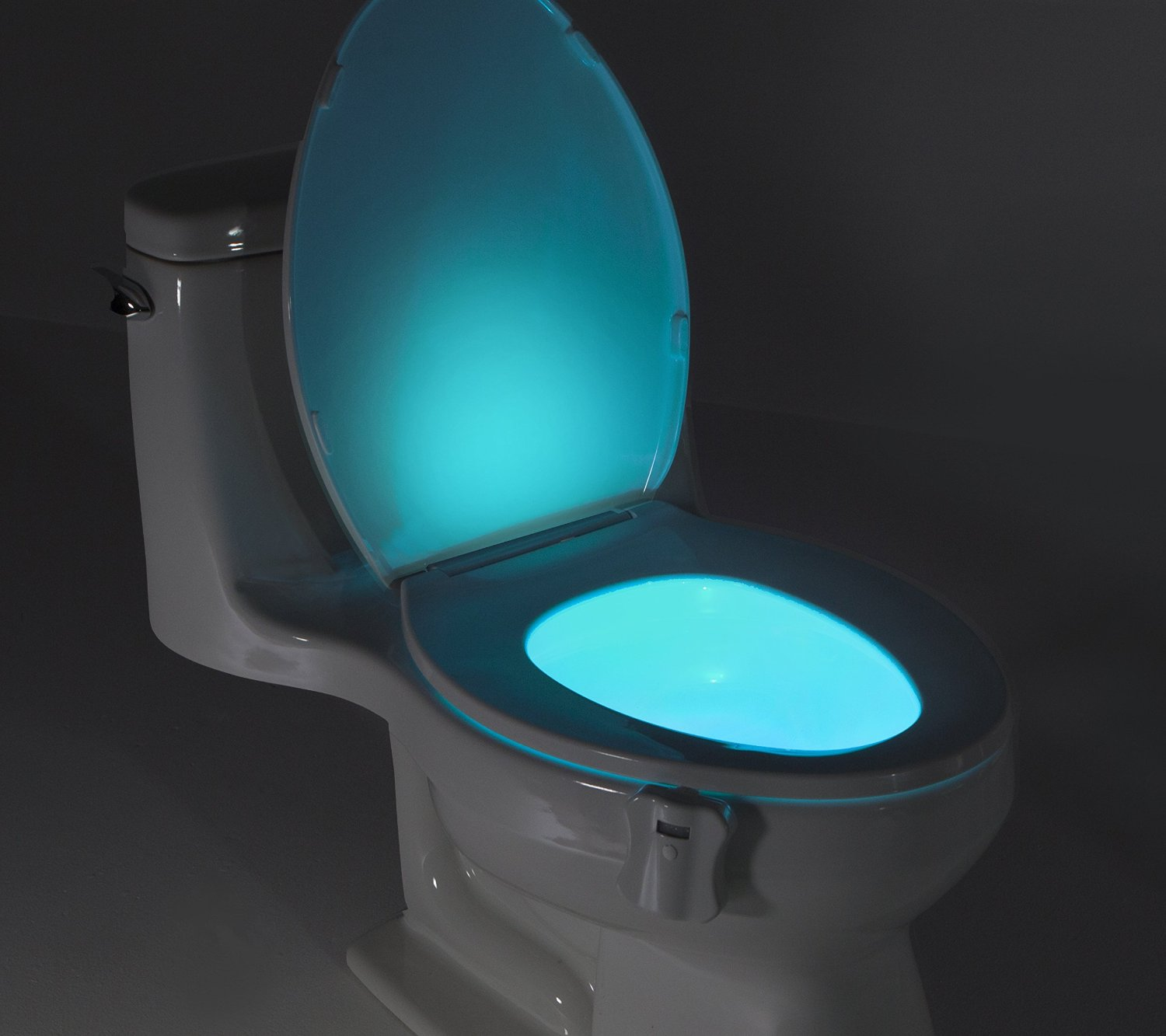 Glowbowl Motion Activated Toilet Nightlight Go For Dope