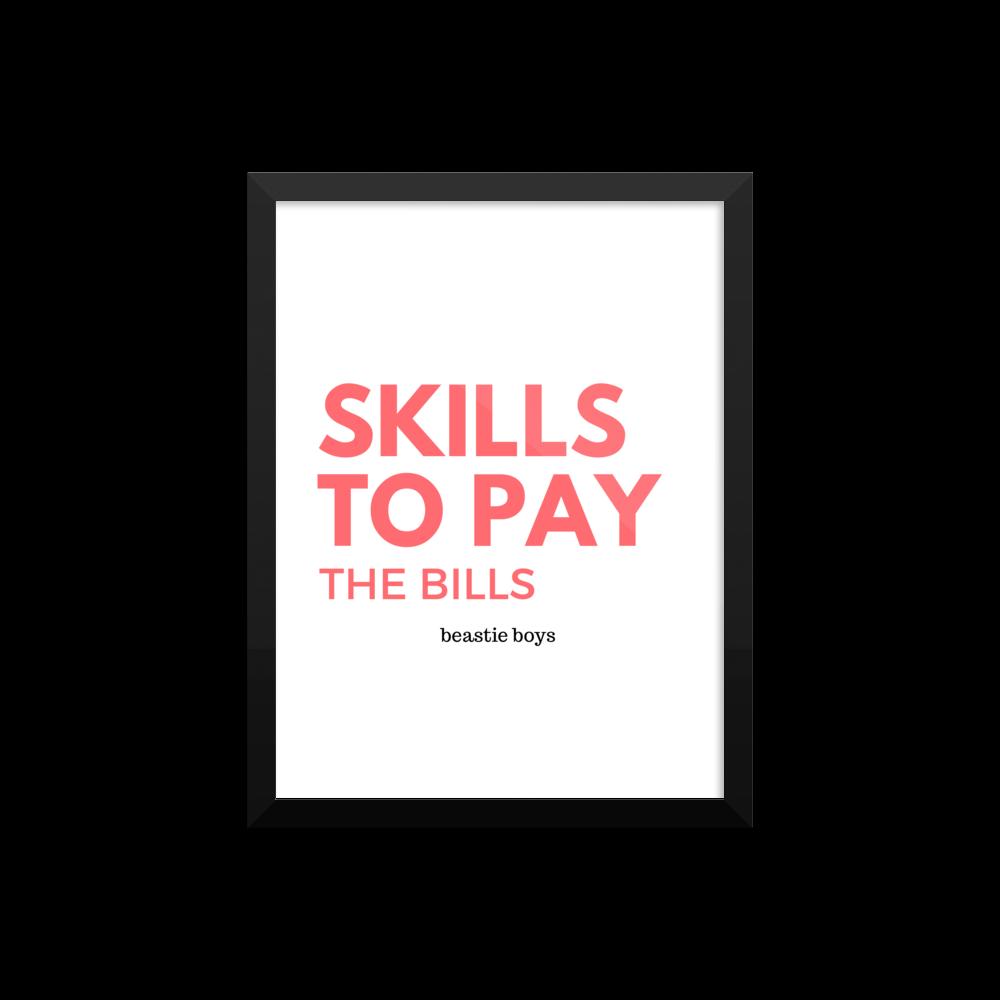 skills to pay the bills Kunglig mixleverantÖr sen 2004.