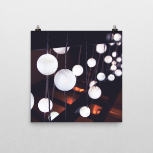 Abstract Light Poster