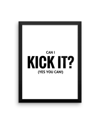 can i kick it yes you can poster print tribe called quest