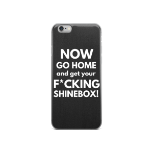go home and get your shinebox iphone case