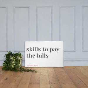 skills-to-pay-the-bills-canvas